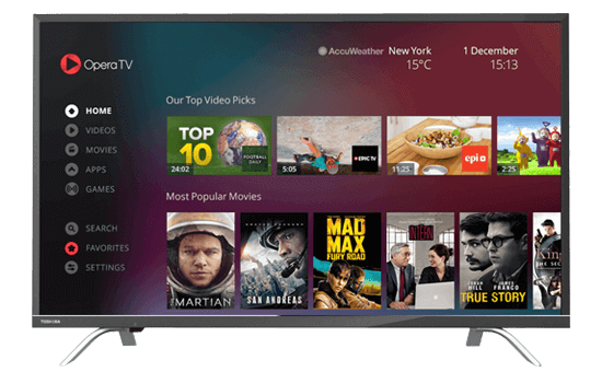 Smart TV TOSHIBA 43""