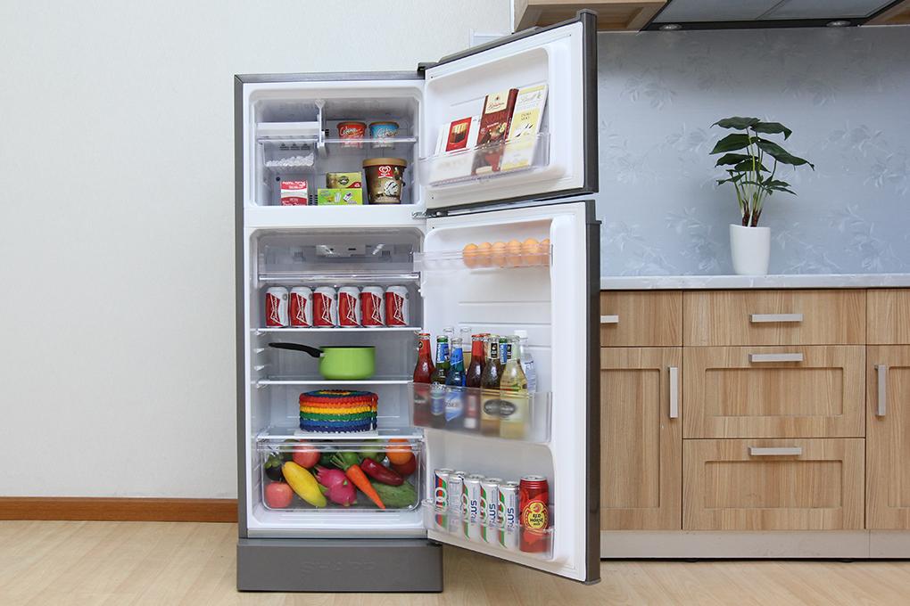 Tủ lạnh Sharp 180 lít SJ-195E-DSS