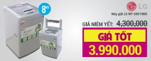 Máy giặt LG WF-S8019MS 8kg