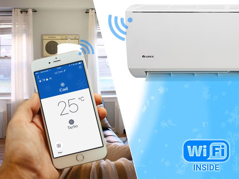 Máy lạnh kết nối Wifi