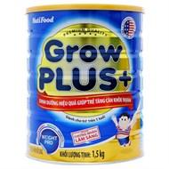 Sữa bột GrowPLUS+ tăng cân khỏe mạnh 1.5kg (bé trên 1 tuổi)