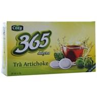 Trà Cozy Artichoke 365 daily tea túi lọc 2g (hộp 25 gói)