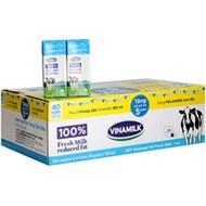 STT Vinamilk không đường tách béo 180ml (thùng 48 hộp)