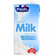 Sữa tiệt trùng Pauls ít béo hộp 1 lít