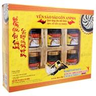 Nước yến Sài Gòn Anpha dành cho người ăn kiêng hộp 6 lọ