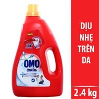 Nước giặt Omo cho da nhạy cảm chai 2.4kg
