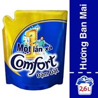 Nước xả Comfort 1 lần xả hương Ban mai túi 2.6 lít