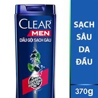 Dầu gội đầu Clear Men sạch sâu da đầu 370g