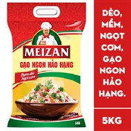 Gạo Meizan thơm ngon hảo hạng 5kg