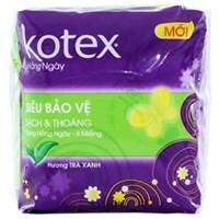Băng vệ sinh hàng ngày Kotex siêu bảo vệ 8 miếng