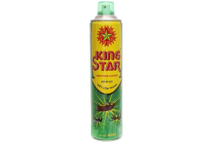 Bình xịt côn trùng King Star hương Chanh 600ml