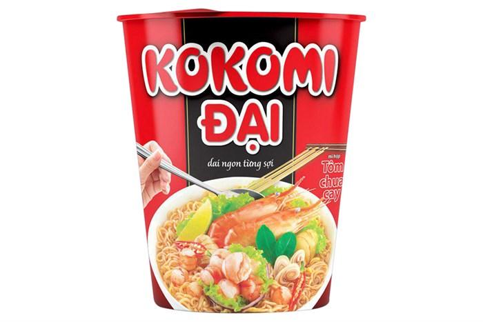 Mì ly Kokomi Đại tôm chua cay 65g