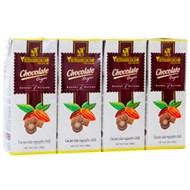 Cacao sữa nguyên chất Vietnamcacao hộp 180ml (lốc 4 hộp)