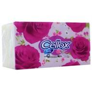 Khăn giấy Cellox Rosy gói 180 tờ 2 lớp (190x190mm)
