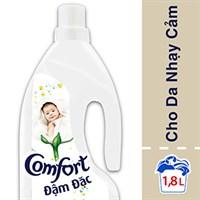 Nước xả Comfort đậm đặc cho da nhạy cảm chai 1.8 lít