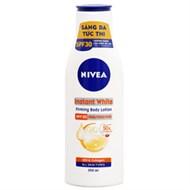 Sữa dưỡng thể Nivea săn da Instant White SPF30 PA++ 200ml