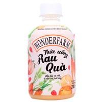 Thức uống rau quả Wonderfarm 280ml