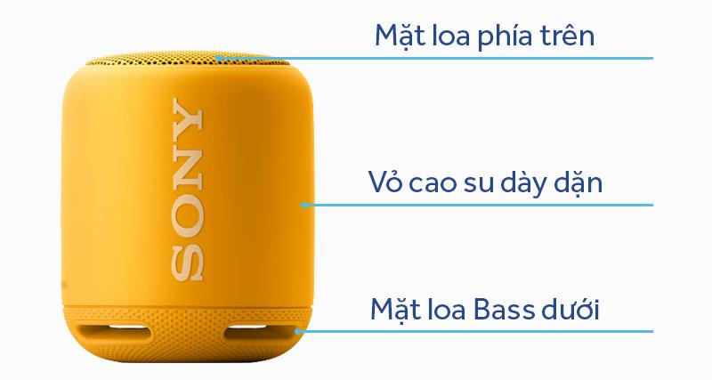 Thiết kế loa bluetooth Sony SRS-XB10 nhỏ gọn