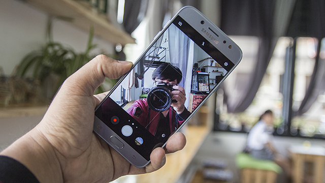Camera selfie ảo diệu