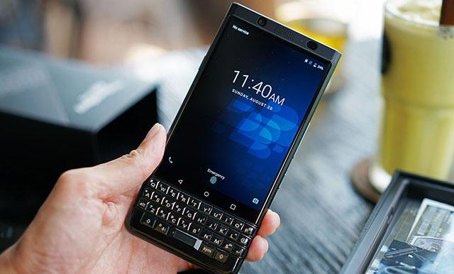 Thiết kế đậm chất BlackBerry