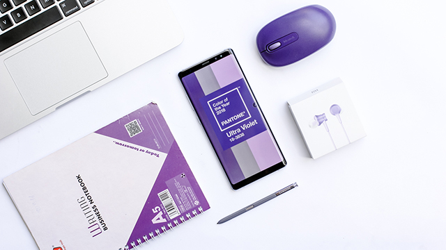 Bút S-Pen của Samsung Galaxy Note 8 Orchid Gray