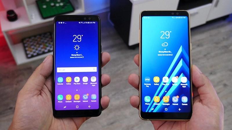Thiết kế được cho là của Samsung Galaxy A6 (2018)