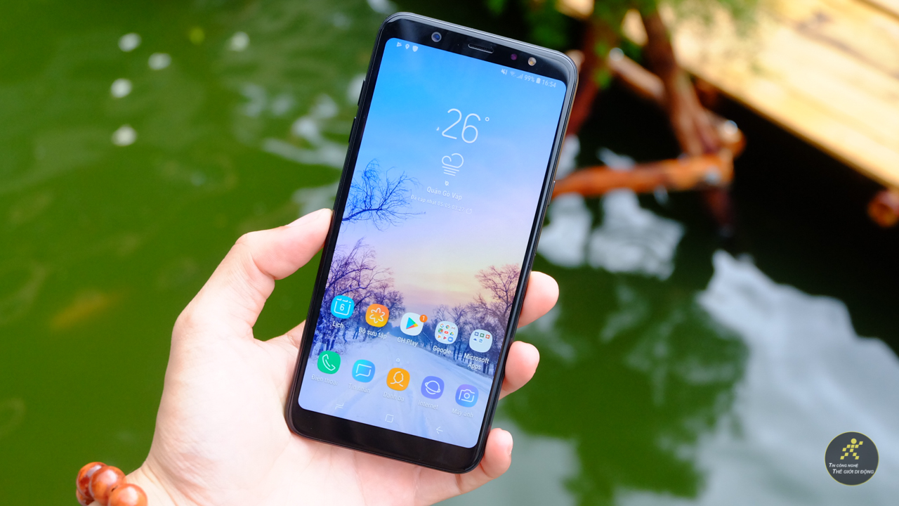 Giao diện Samsung Experience 9