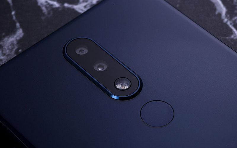 Camera sau của điện thoại Nokia X5