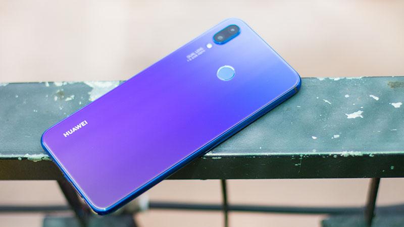 Thiết kế điện thoại Huawei Nova 3i