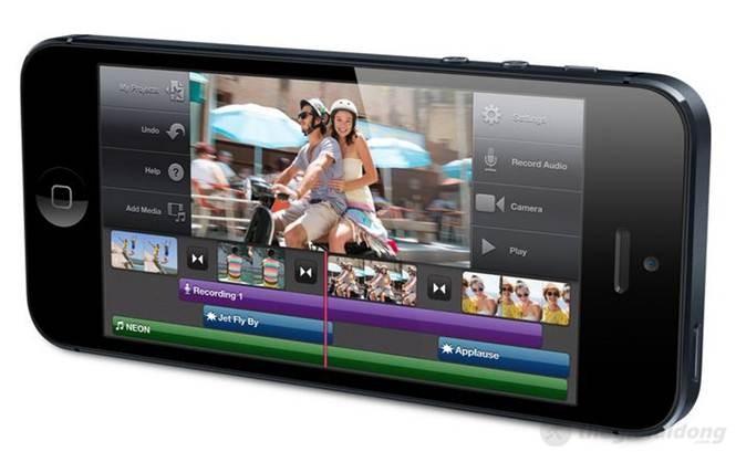 khả năng xử lí đồ họa của iphone 5 rất tốt