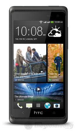 HTC Desire 600 dual sim với thiết kế tinh tế