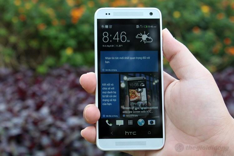 Thiết kế tuyệt đẹp của HTC One Mini