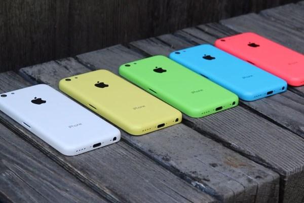 iPhone 5C nổi bật với nhiều sắc màu trẻ trung