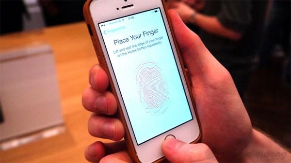 Iphone 5S Bảo mật cao với cảm biến Touch ID dưới nút Home