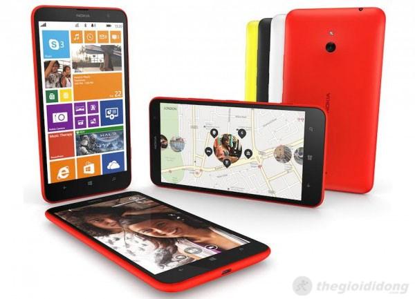 Lumia 1320 một trong những phablet đầu tiên của Nokia