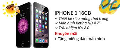 Điện thoại di động iPhone 6 16GB