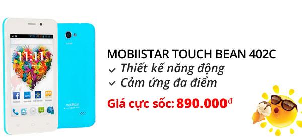 Điện thoại di động Mobiistar Touch Bean 402C