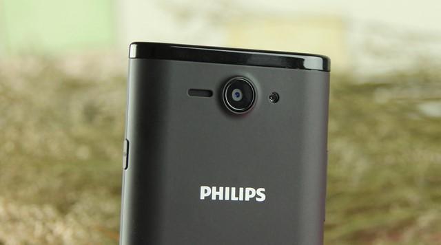 Camera sau 5.0 MP có sự hỗ trợ ánh sáng từ đèn LED Flash