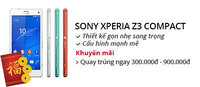 Điện thoại di động Sony Xperia Z3 Compact