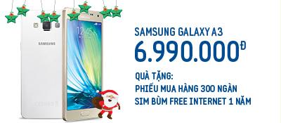 Điện thoại di động Samsung Galaxy A3