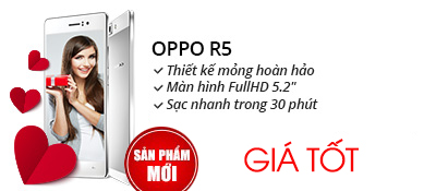 Điện thoại di động OPPO R5