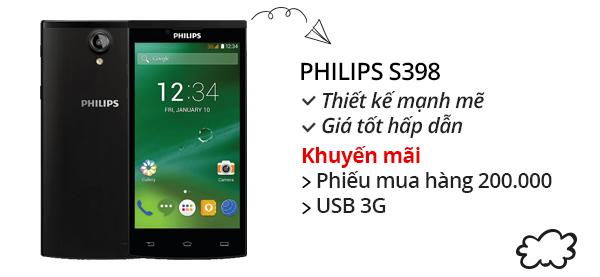 Điện thoại di động Philips S398