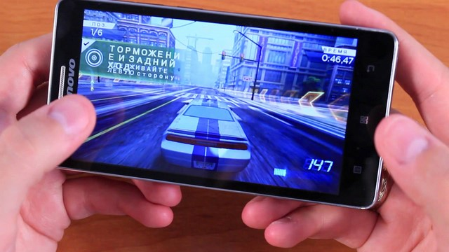 Lenovo A536 sẽ là trung tâm giải trí của bạn, chở thành thiết bị nghe nhạc, xem video hay chơi game