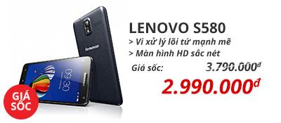 Điện thoại di động Lenovo S580