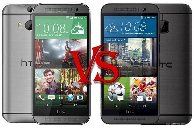 Sự tương đồng giữa One M8 và One M9 trong thiết kế