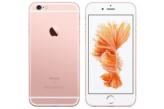 Thiết kế không có nhiều thay đổi so với iPhone 6, màu sắc hồng được chú ý nhiều hơn