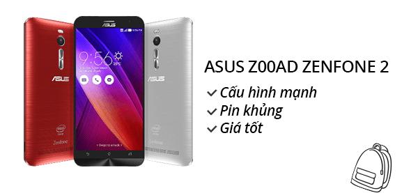 Điện thoại di động Asus Zenfone 2 1.8Ghz/2G/16G ZE550ML