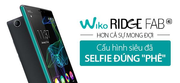 Điện thoại di động Wiko Ridge Fab 4G