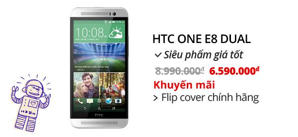 Điện thoại di động HTC One E8 Dual