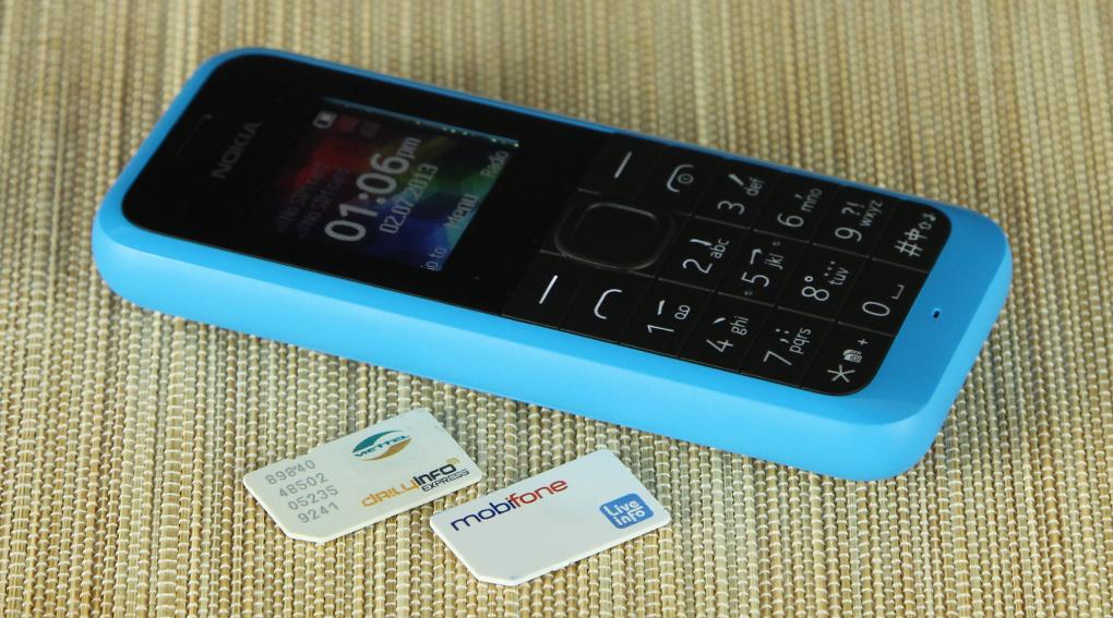 Thiết kế của Nokia 105 Dual SIM--1-6